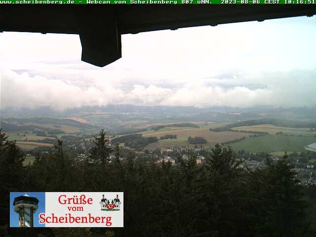 Webcam Scheibenberger Turm